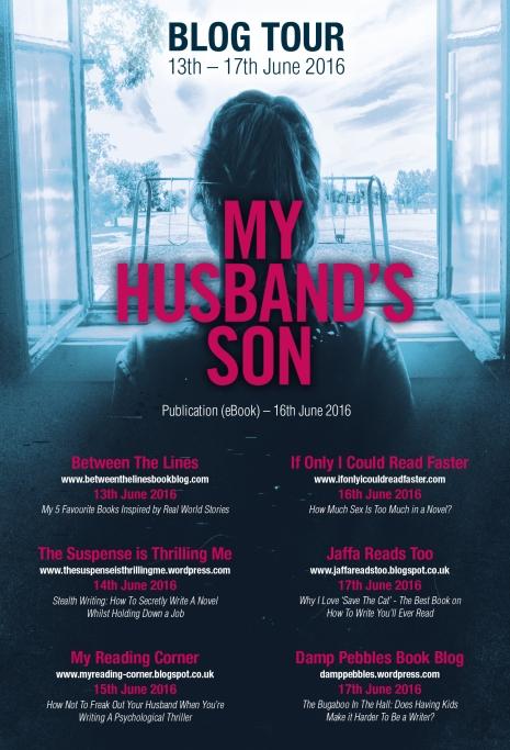 My Husbands Son Blog Tour V3